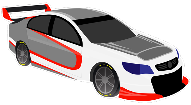 V8 Bathurst Supercars Stickers messages sticker-10