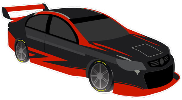 V8 Bathurst Supercars Stickers messages sticker-8