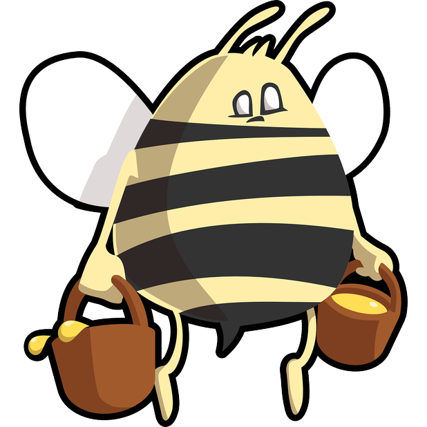 Fun Bees messages sticker-8