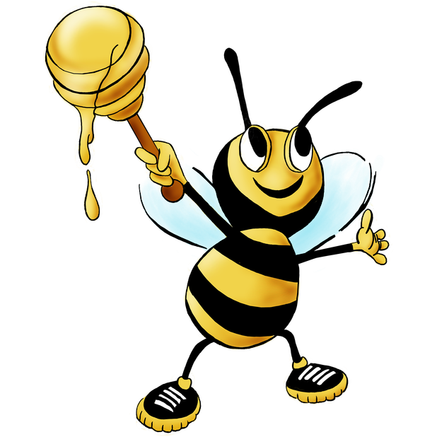 Fun Bees messages sticker-0
