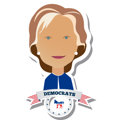 iVote US Election messages sticker-11