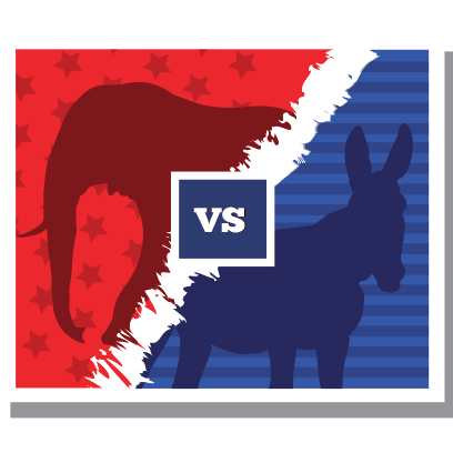 iVote US Election messages sticker-5