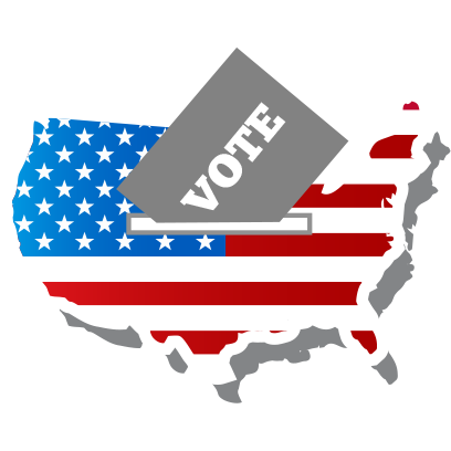 iVote US Election messages sticker-2
