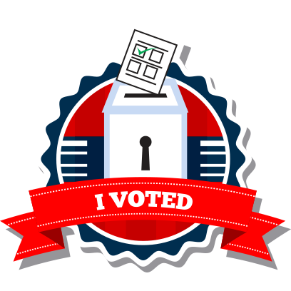 iVote US Election messages sticker-8