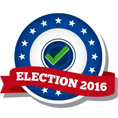 iVote US Election messages sticker-9