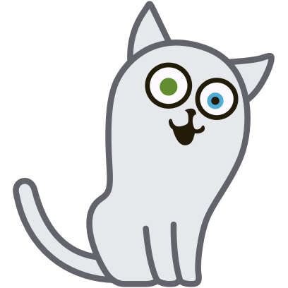 Hoover the Simple cat messages sticker-9