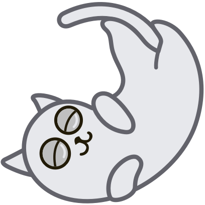 Hoover the Simple cat messages sticker-10