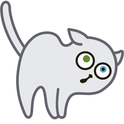 Hoover the Simple cat messages sticker-5