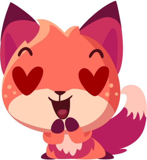 Sheila the Fox Sticker Pack messages sticker-6