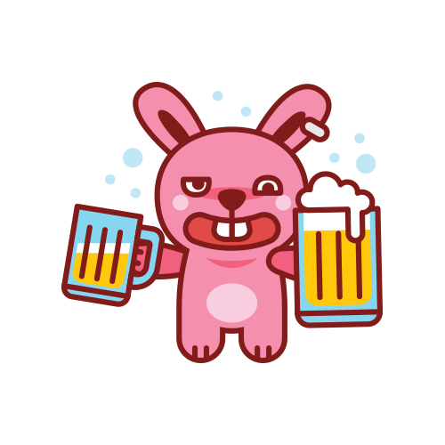 Swagger Bunny messages sticker-10