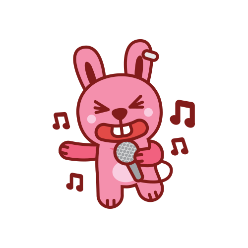 Swagger Bunny messages sticker-2