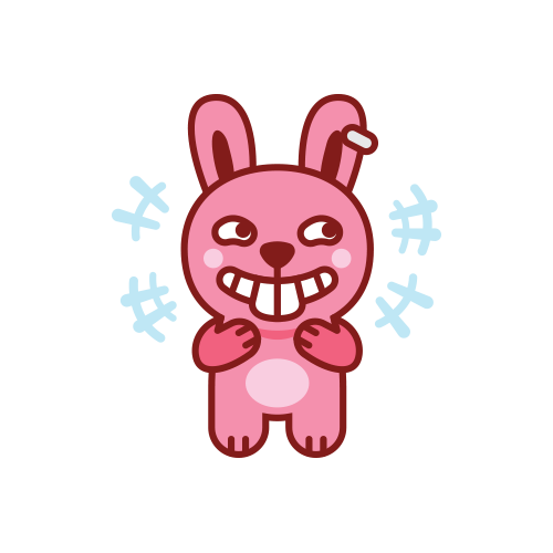 Swagger Bunny messages sticker-0