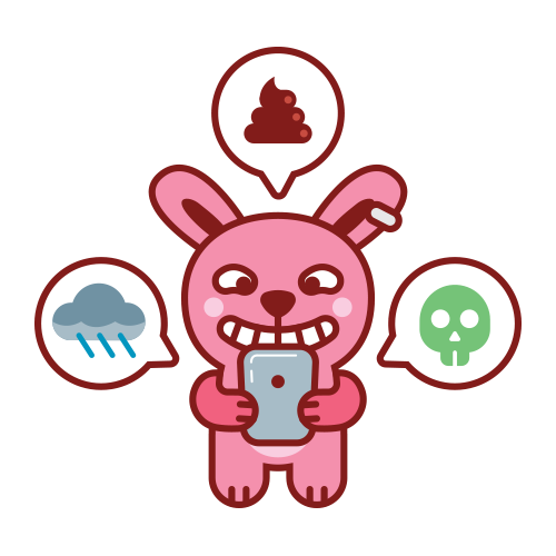 Swagger Bunny messages sticker-5