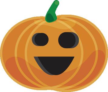 Halloween - Pumpkins messages sticker-1