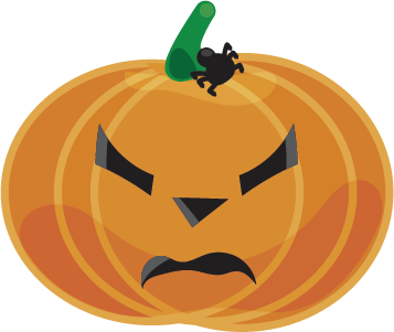 Halloween - Pumpkins messages sticker-7