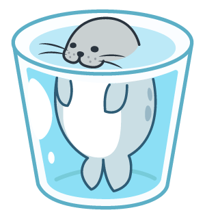 Daisy The Little Seal messages sticker-1