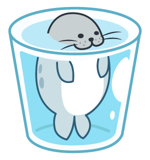 Daisy The Little Seal messages sticker-0