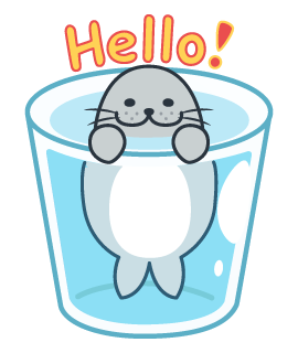 Daisy The Little Seal messages sticker-6