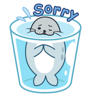 Daisy The Little Seal messages sticker-8