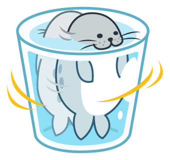 Daisy The Little Seal messages sticker-5