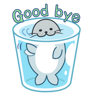 Daisy The Little Seal messages sticker-9