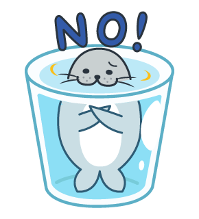 Daisy The Little Seal messages sticker-11