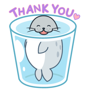 Daisy The Little Seal messages sticker-7