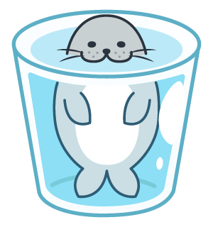 Daisy The Little Seal messages sticker-2