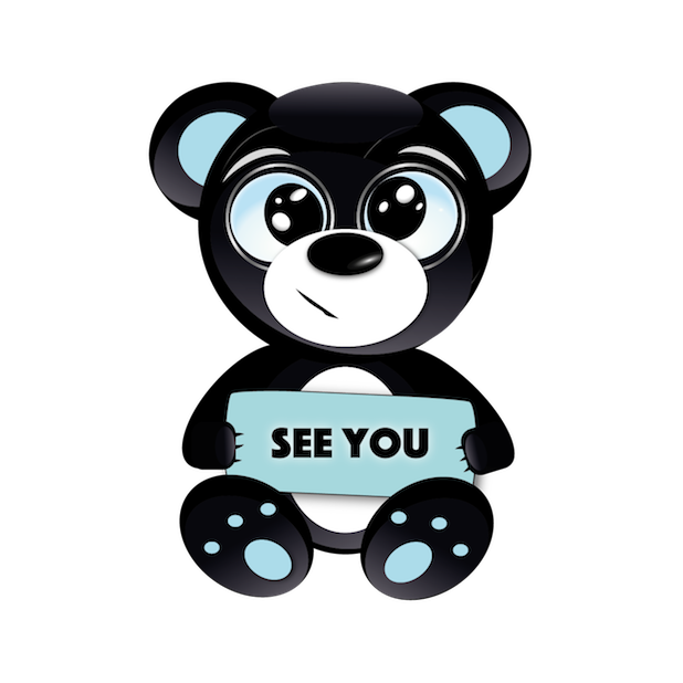 Baddy Bear messages sticker-2