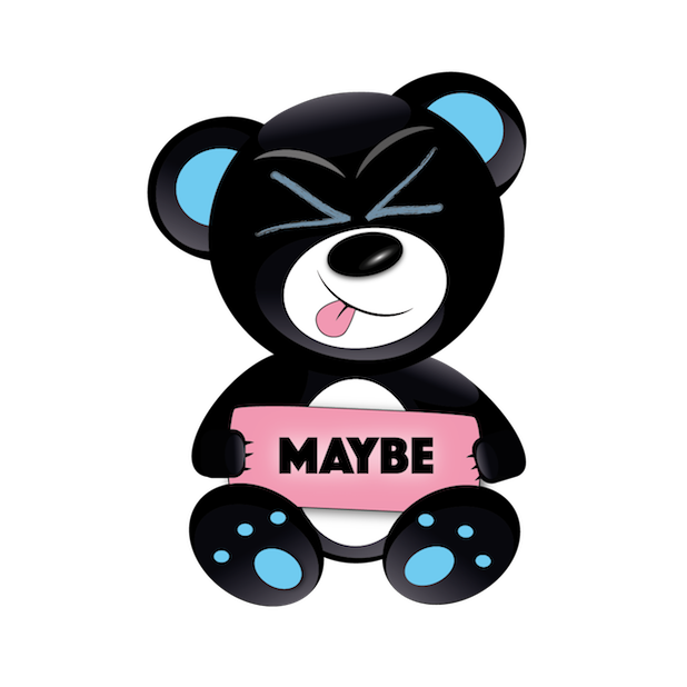 Baddy Bear messages sticker-0