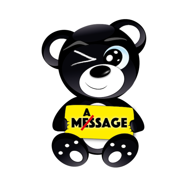 Baddy Bear messages sticker-1