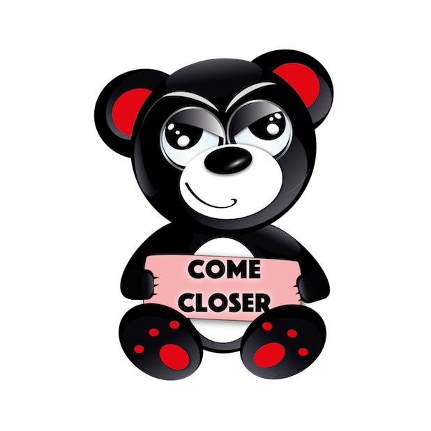 Baddy Bear messages sticker-8
