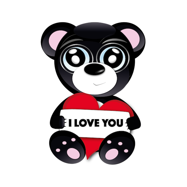 Baddy Bear messages sticker-3