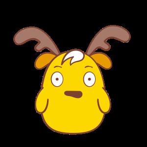 Chip - The Reindeer Wannabe messages sticker-3