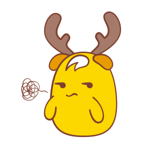 Chip - The Reindeer Wannabe messages sticker-2