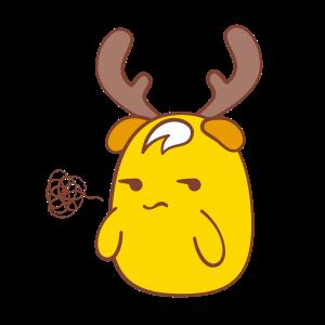 Chip - The Reindeer Wannabe messages sticker-2
