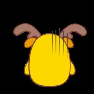 Chip - The Reindeer Wannabe messages sticker-11