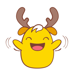 Chip - The Reindeer Wannabe messages sticker-5