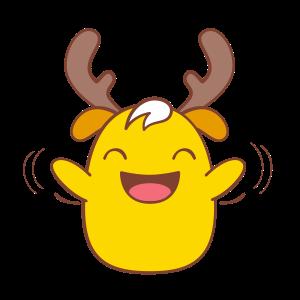Chip - The Reindeer Wannabe messages sticker-5
