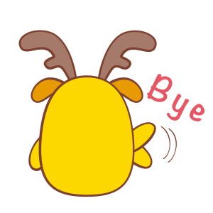 Chip - The Reindeer Wannabe messages sticker-10