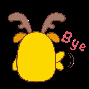 Chip - The Reindeer Wannabe messages sticker-10