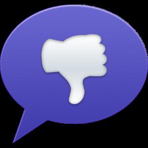 Bubble Back messages sticker-2