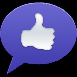 Bubble Back messages sticker-1