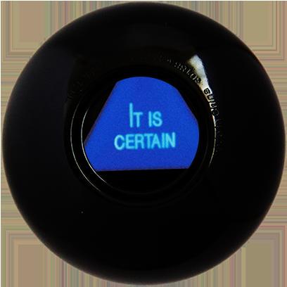 Magic B Ball (magic generic billiard ball) messages sticker-4