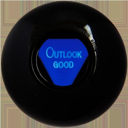 Magic B Ball (magic generic billiard ball) messages sticker-7
