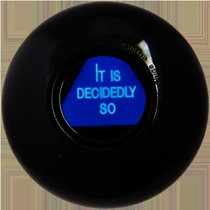 Magic B Ball (magic generic billiard ball) messages sticker-6