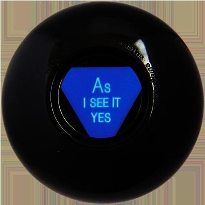 Magic B Ball (magic generic billiard ball) messages sticker-3