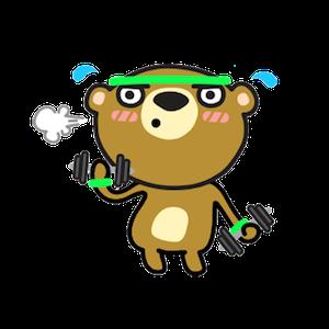 Miya the Bear messages sticker-3