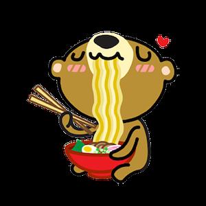 Miya the Bear messages sticker-6