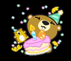 Miya the Bear messages sticker-0